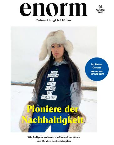 enorm   Das Magazin für gesellschaftlichen Wandel